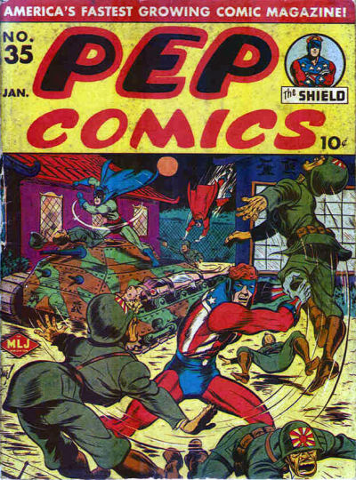 Cover for Pep Comics (Archie, 1940 series) #35