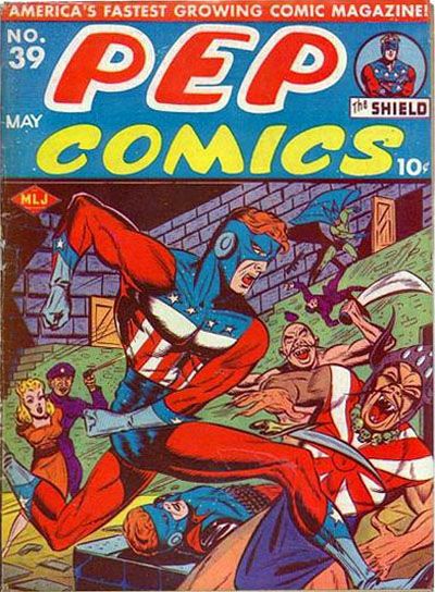 Cover for Pep Comics (Archie, 1940 series) #39