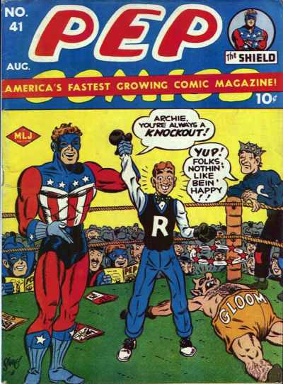 Cover for Pep Comics (Archie, 1940 series) #41