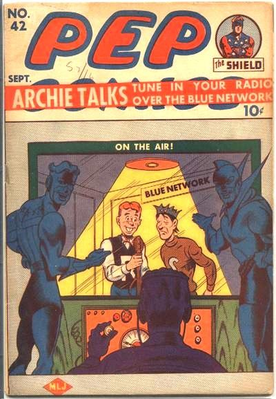 Cover for Pep Comics (Archie, 1940 series) #42