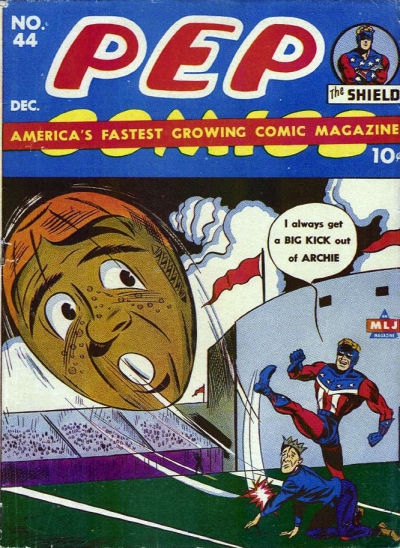 Cover for Pep Comics (Archie, 1940 series) #44