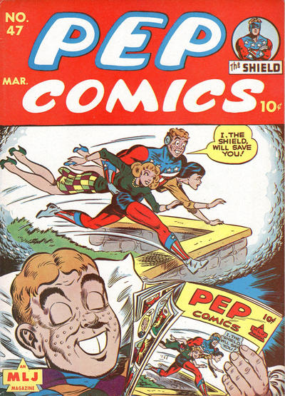 Cover for Pep Comics (Archie, 1940 series) #47