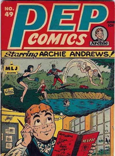 Cover for Pep Comics (Archie, 1940 series) #49