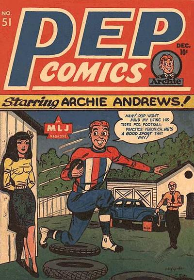 Cover for Pep Comics (Archie, 1940 series) #51
