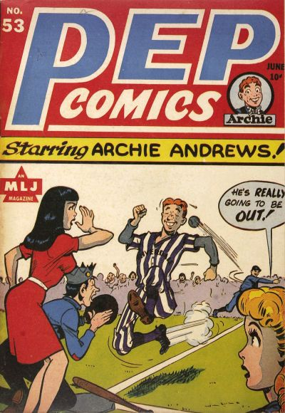 Cover for Pep Comics (Archie, 1940 series) #53
