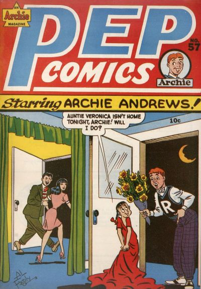Cover for Pep Comics (Archie, 1940 series) #57