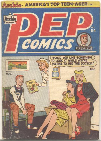Cover for Pep Comics (Archie, 1940 series) #64