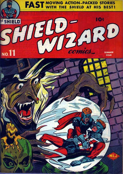 Cover for Shield-Wizard Comics (Archie, 1940 series) #11