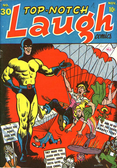 Cover for Top Notch Laugh Comics (Archie, 1942 series) #30
