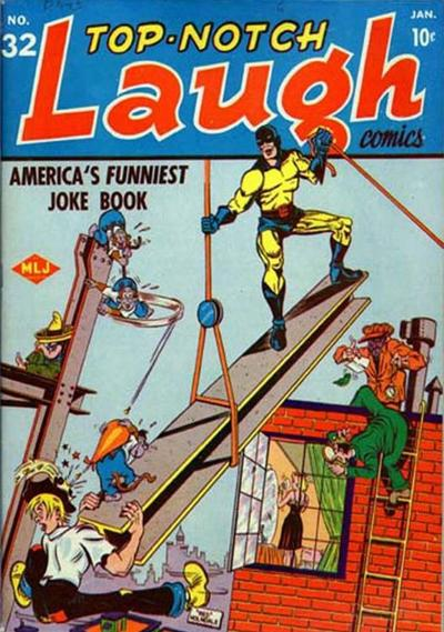 Cover for Top Notch Laugh Comics (Archie, 1942 series) #32