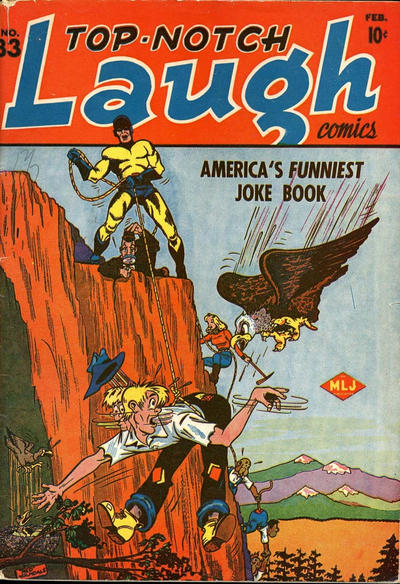 Cover for Top Notch Laugh Comics (Archie, 1942 series) #33