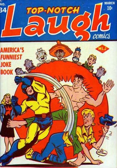 Cover for Top Notch Laugh Comics (Archie, 1942 series) #34