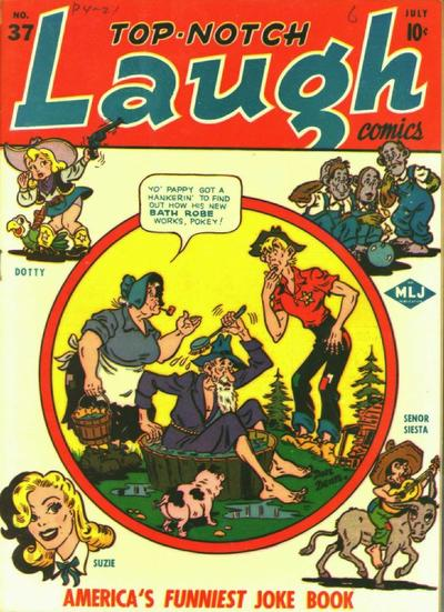Cover for Top Notch Laugh Comics (Archie, 1942 series) #37