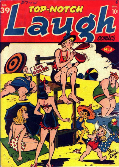 Cover for Top Notch Laugh Comics (Archie, 1942 series) #39