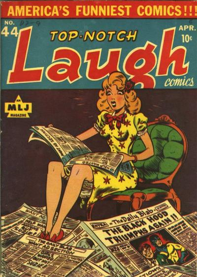 Cover for Top Notch Laugh Comics (Archie, 1942 series) #44