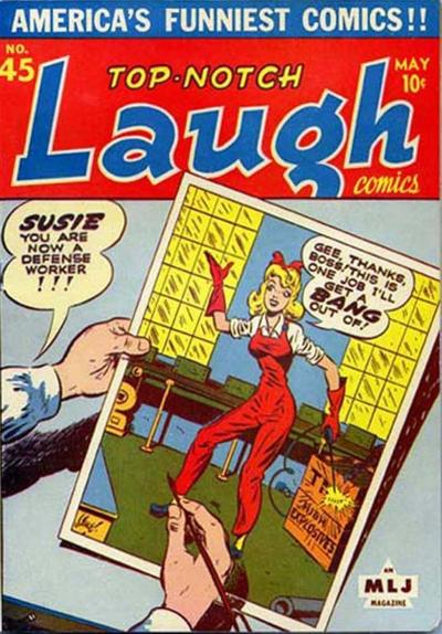 Cover for Top Notch Laugh Comics (Archie, 1942 series) #45