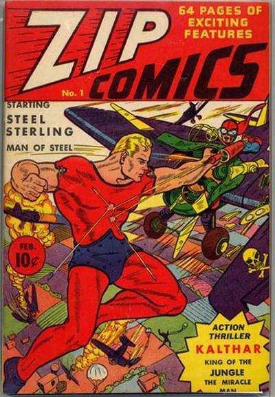 Cover for Zip Comics (Archie, 1940 series) #1