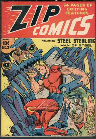 Cover for Zip Comics (Archie, 1940 series) #3