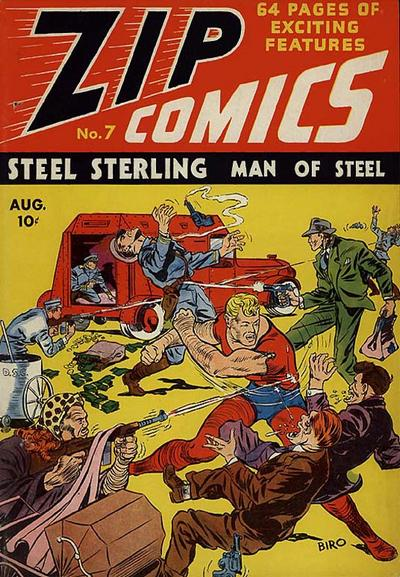 Cover for Zip Comics (Archie, 1940 series) #7
