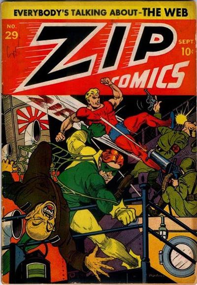 Cover for Zip Comics (Archie, 1940 series) #29