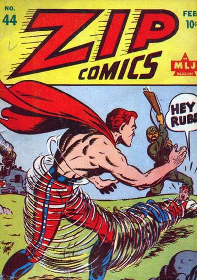 Cover for Zip Comics (Archie, 1940 series) #44