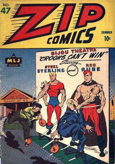 Cover for Zip Comics (Archie, 1940 series) #47