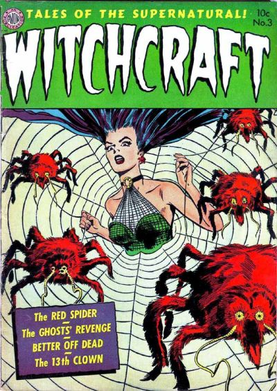 Cover for Witchcraft (Avon, 1952 series) #3