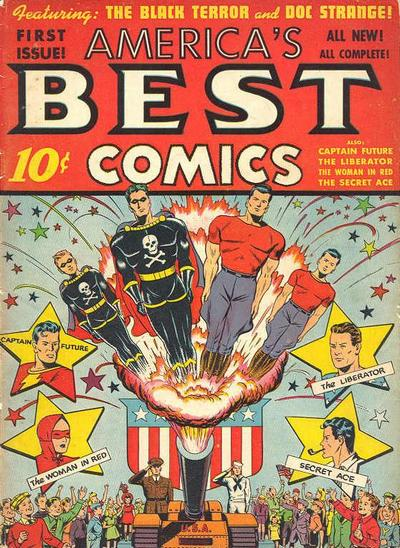 Cover for America's Best Comics (Pines, 1942 series) #v1#1 (1)