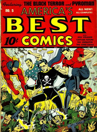 Cover for America's Best Comics (Pines, 1942 series) #v2#2 (5)