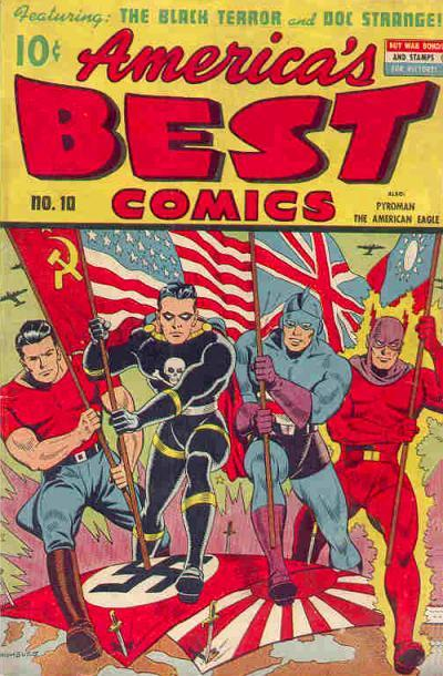 Cover for America's Best Comics (Pines, 1942 series) #v4#1 (10)
