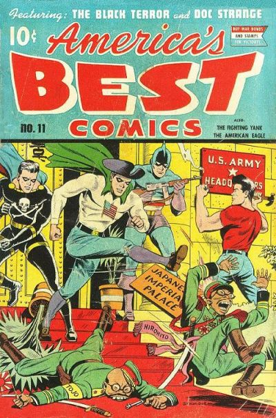 Cover for America's Best Comics (Pines, 1942 series) #v4#2 (11)