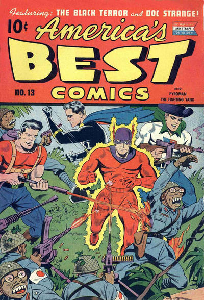 Cover for America's Best Comics (Pines, 1942 series) #v5#1 (13)