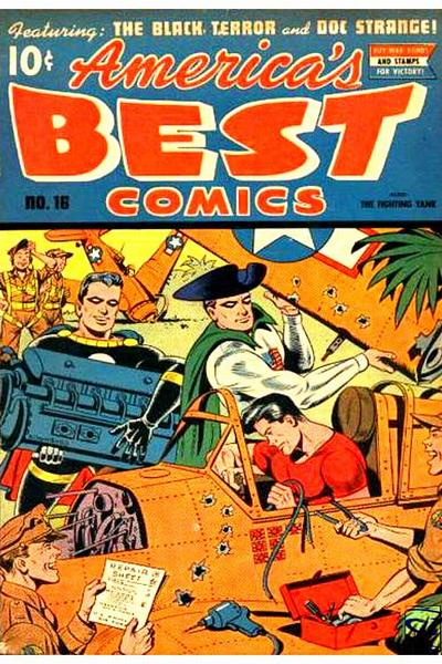 Cover for America's Best Comics (Pines, 1942 series) #16