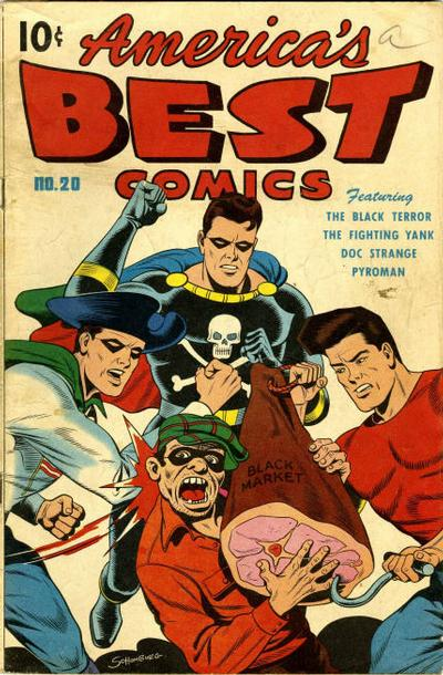 Cover for America's Best Comics (Pines, 1942 series) #20
