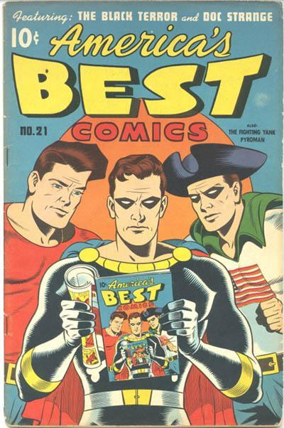Cover for America's Best Comics (Pines, 1942 series) #21