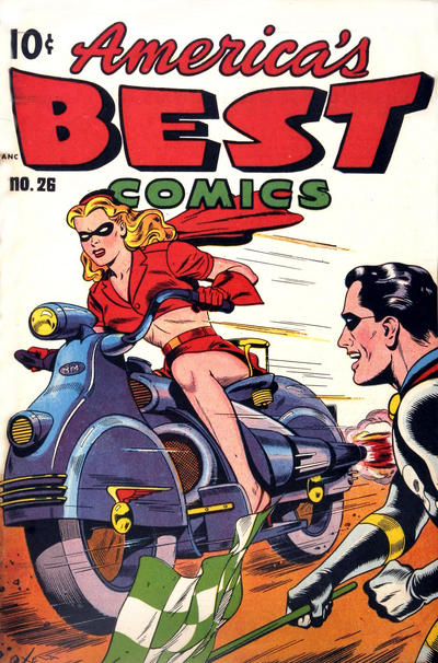 Cover for America's Best Comics (Pines, 1942 series) #26