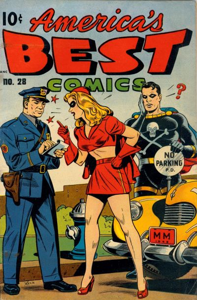 Cover for America's Best Comics (Pines, 1942 series) #28