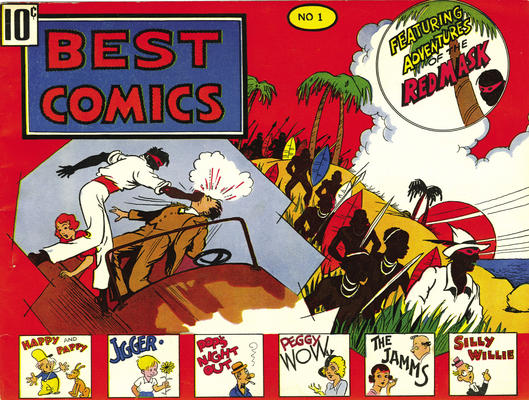 Cover for Best Comics (Pines, 1939 series) #1