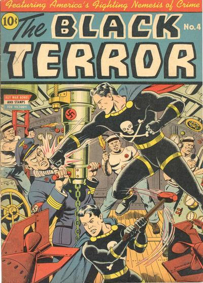Cover for The Black Terror (Pines, 1942 series) #v2#1 (4)