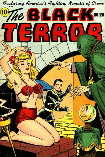Cover for The Black Terror (Pines, 1942 series) #20