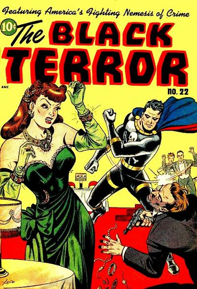Cover for The Black Terror (Pines, 1942 series) #22