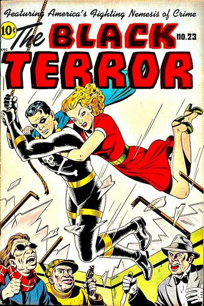 Cover for The Black Terror (Pines, 1942 series) #23