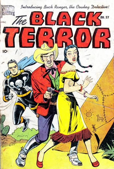 Cover for The Black Terror (Pines, 1942 series) #27
