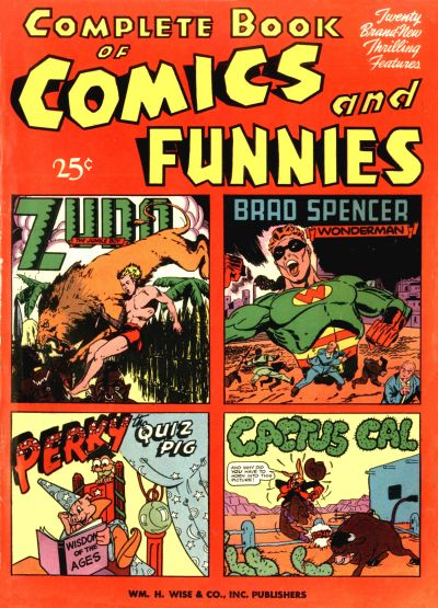 Cover for Complete Book of Comics and Funnies (Pines, 1944 series) #1