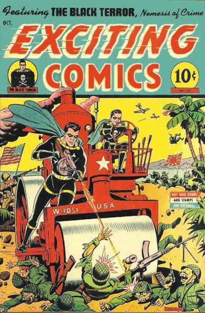 Cover for Exciting Comics (Pines, 1940 series) #35