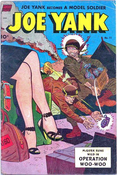Cover for Joe Yank (Pines, 1952 series) #11