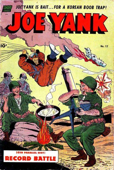 Cover for Joe Yank (Pines, 1952 series) #13