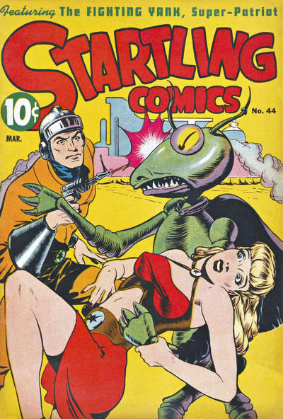 Cover for Startling Comics (Pines, 1940 series) #44