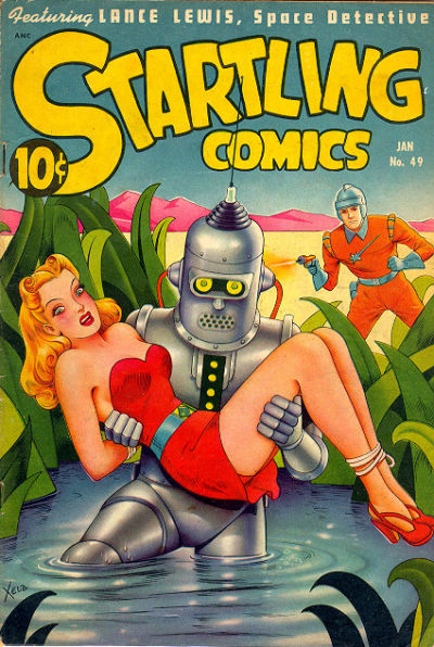 Cover for Startling Comics (Pines, 1940 series) #49