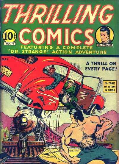 Cover for Thrilling Comics (Pines, 1940 series) #v2#1 (4)